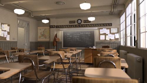 classroom EMBREE knl