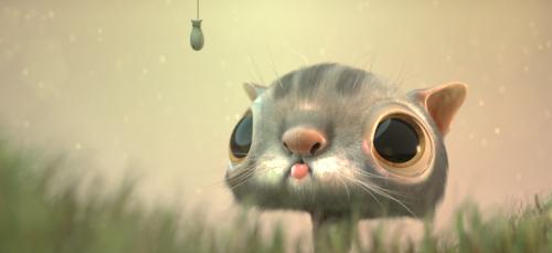 fishy cat EMBREE knl